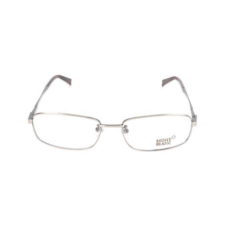 Men's MB0387 Optical Frames // Shiny Dark Ruthenium