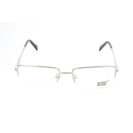Men's MB0388 Optical Frames // Shiny Palladium