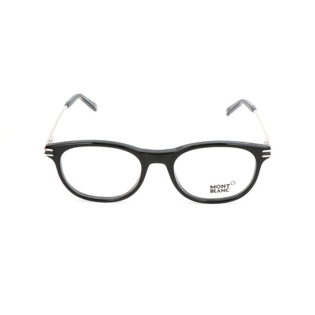 Men's MB0724 Optical Frames // Shiny Black