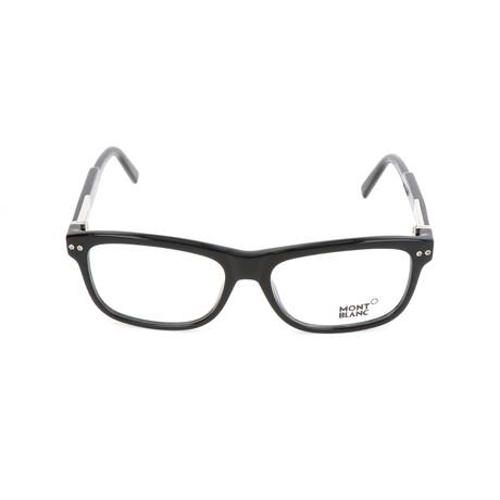 Men's MB0618 Frames // Shiny Black