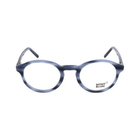 Men's MB0673 Frames // Shiny Blue
