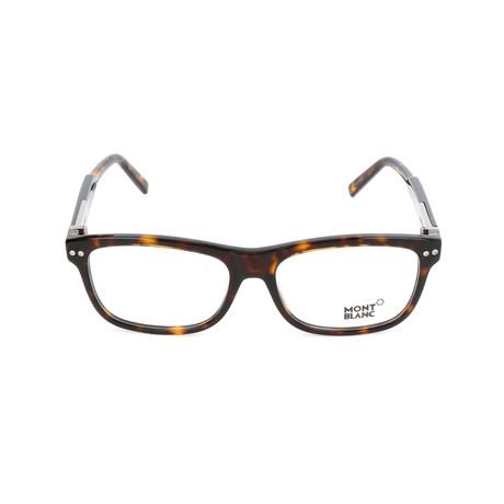 Men's MB0618 Optical Frames // Dark Havana