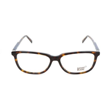 Men's MB0620-F Optical Frames // Dark Havana