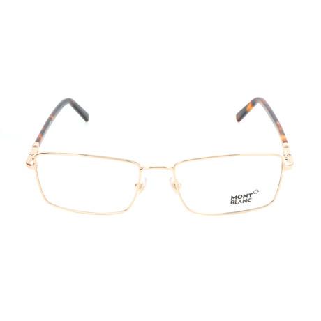 Men's MB0583 Frames // Shiny Rose Gold