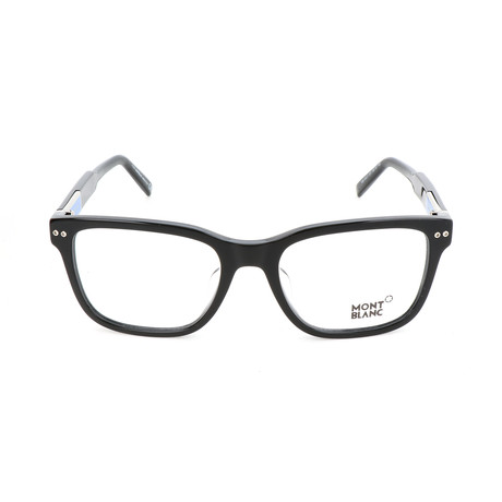 Men's MB0705-F Optical Frames // Shiny Black