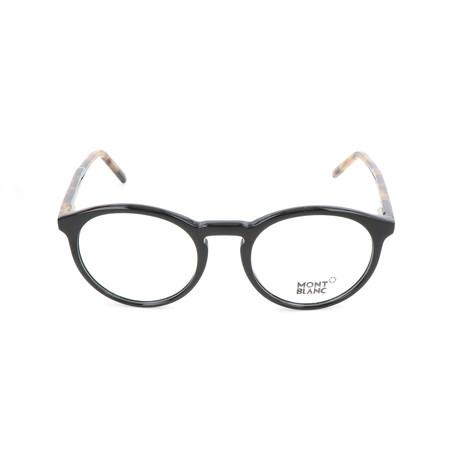 Men's MB0554 Frames // Black