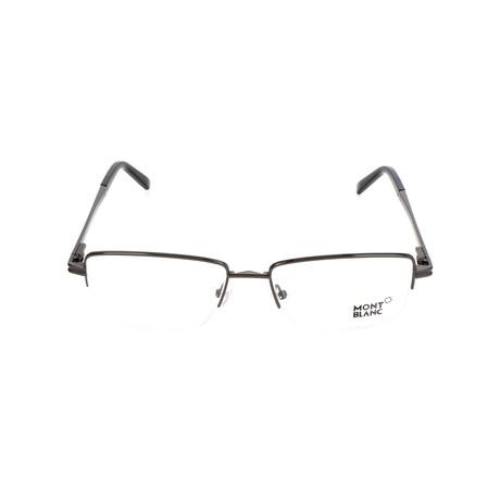 Men's MB0729 Optical Frames // Shiny Gumetal
