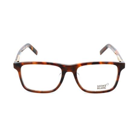 Men's MB0737-F Optical Frames // Dark Havana