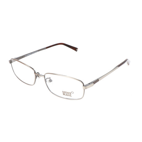 Men's MB0387 Optical Frames // Shiny Dark Ruthenium