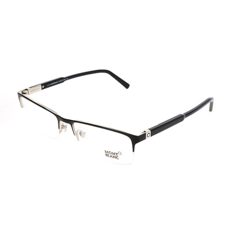 Men's MB0636 Optical Frames // Shiny Black