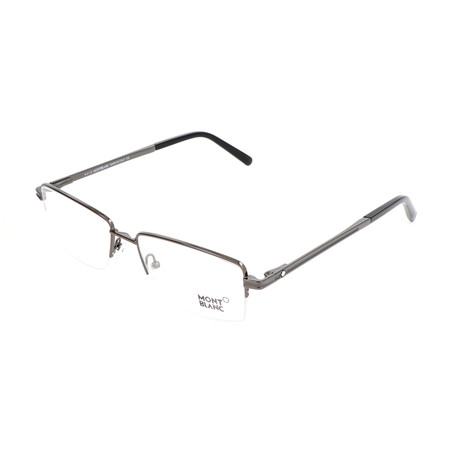 Men's MB0729 Optical Frames // Shiny Gunmetal