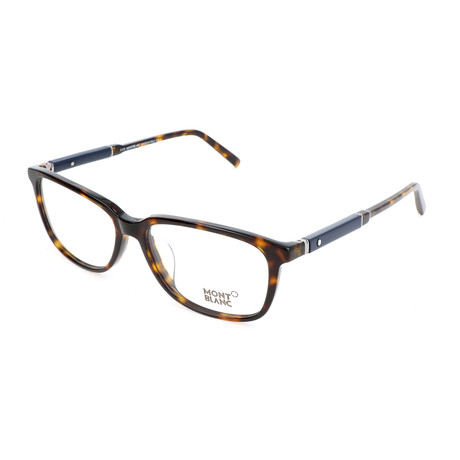 Men's MB0620-F Optical Frames // Dark Havana