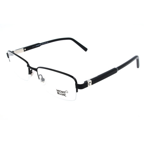 Men's MB0635 Optical Frames // Shiny Black