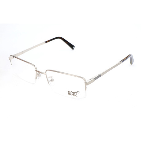 Men's MB0388 Optical Frames // Shiny Palladium