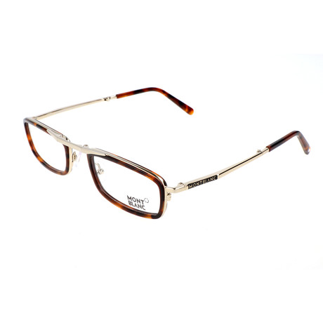 Men's MB0682 Optical Frames // Dark Havana