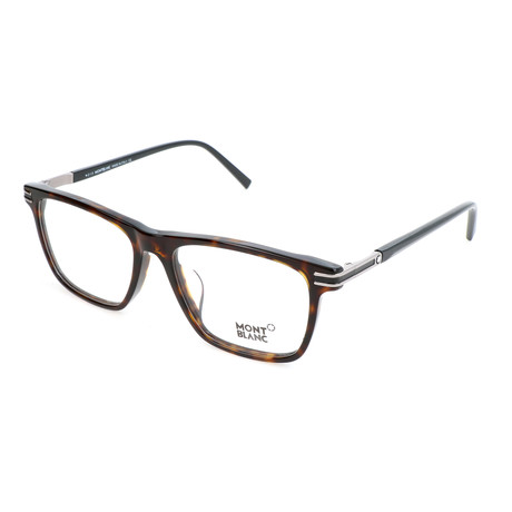Men's MB0710-F Optical Frames // Dark Havana