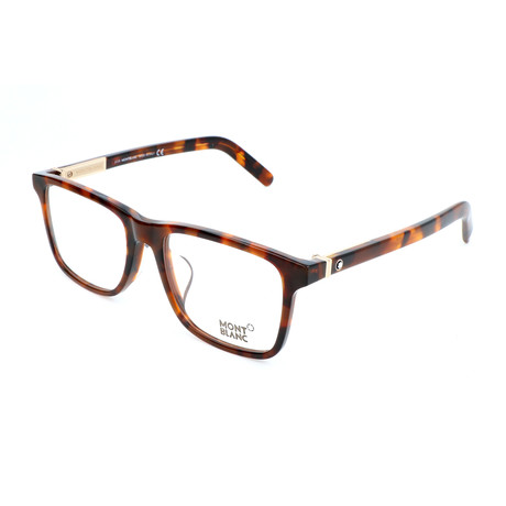 Men's MB0737-F Optical Frames // Dark Havana