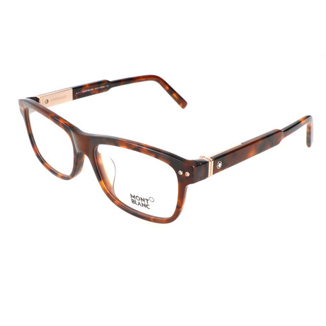 Men's MB0618-F Optical Frames // Colored Havana