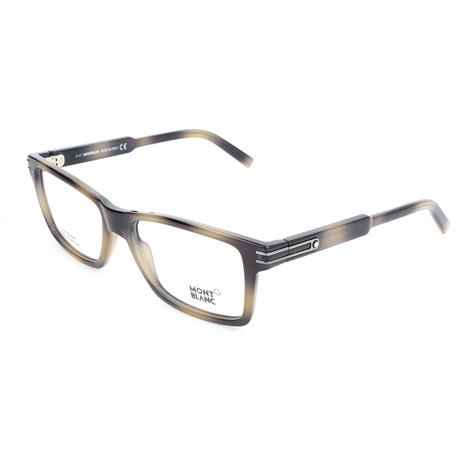 Men's MB0676 Optical Frames // Colored Havana