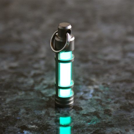 TEC S3 Stainless Steel Glow Fob