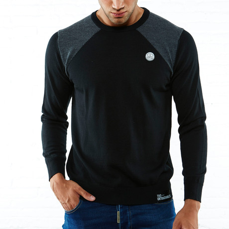 Jersey Pullover // Black (S)