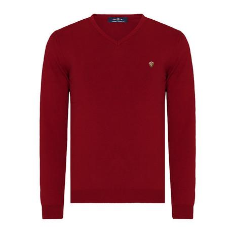 Geovanni Sweater // Bordeaux (XS)