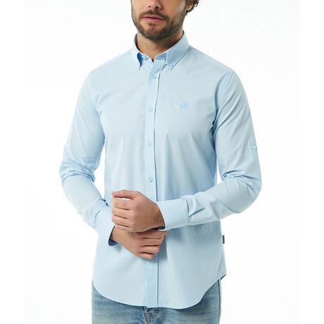 Mitchell Button-Up Shirt // Baby Blue (S)