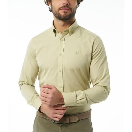 Jose Button-Up Shirt // Lime (S)