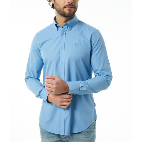Deon Shirt // Dark Blue (XS)