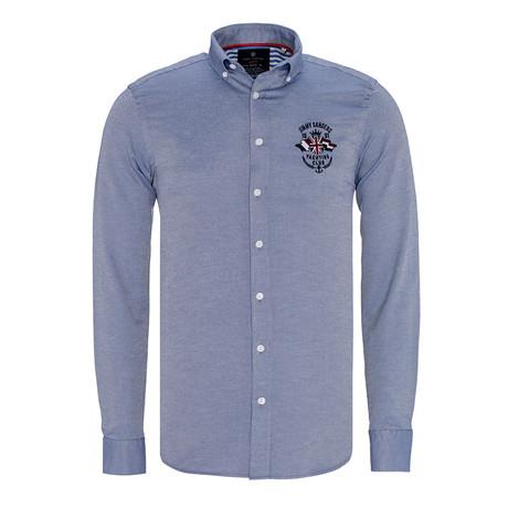 Giovani Shirt // Navy (XS)