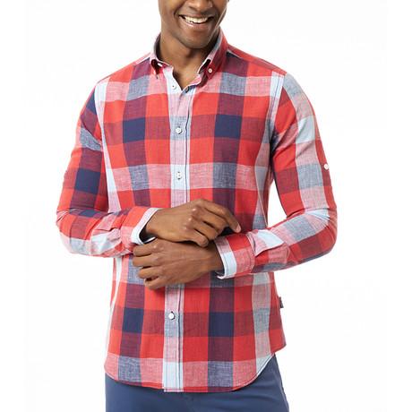 Sidney Shirt // Red (XS)