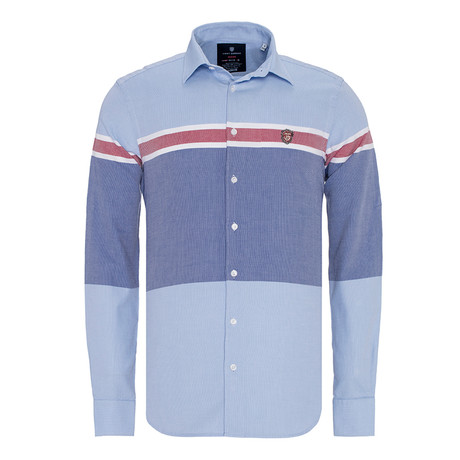 Zachery Shirt // Blue (XS)