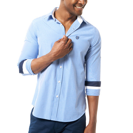 Kyson Shirt // Blue (XS)