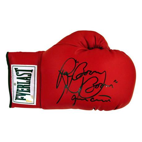 "Autographed Everlast Boxing Glove // Ray ""Boom Boom"" Mancini"