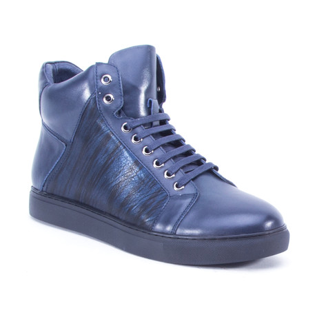 Jack High-Top Sneaker // Navy (US: 8)