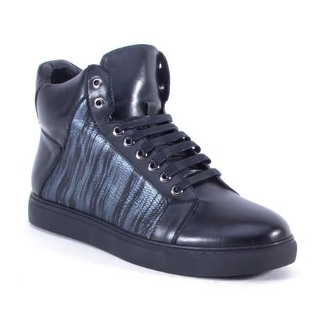 Jack High-Top Sneaker // Silver (US: 8)