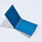 Wallet // Black + Blue