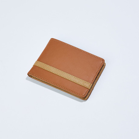 Wallet // Brown + Beige