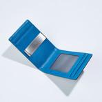 Slim Money Clip // Black + Blue