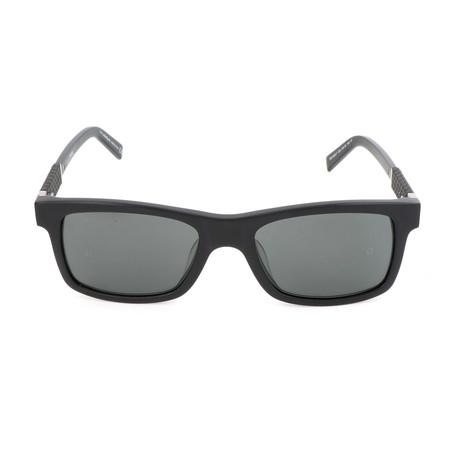 Montblanc // MB646S-F 02A Sunglasses // Matte Black