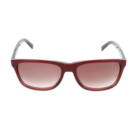 Montblanc // MB461T 69T Sunglasses // Shiny Bordeaux