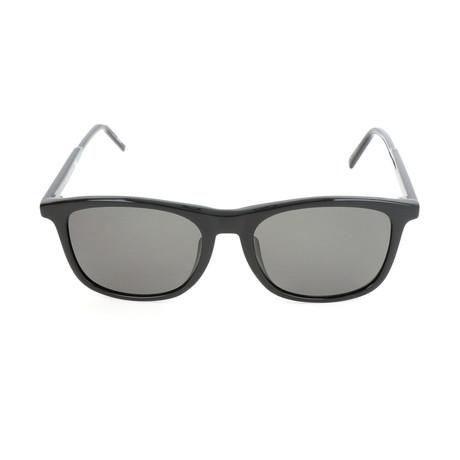 Montblanc // MB593S-F 01D Sunglasses // Shiny Black