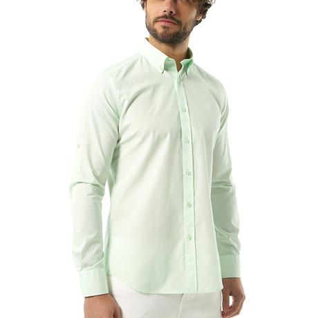 Gael Button-Up Shirt // Mint (S)