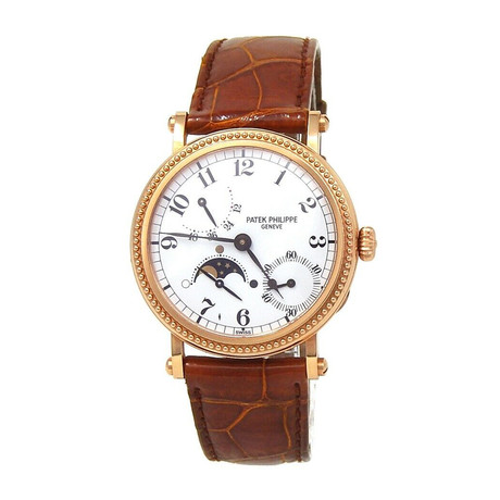 Patek Philippe Complications Power Reserve Moon Phase Automatic // 5015 // Pre-Owned