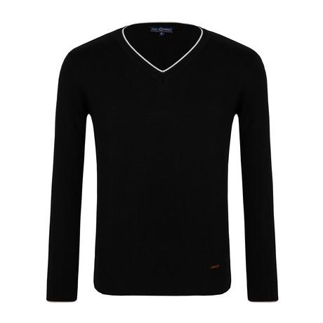 Lenore V-Neck Sweater // Black (XS)