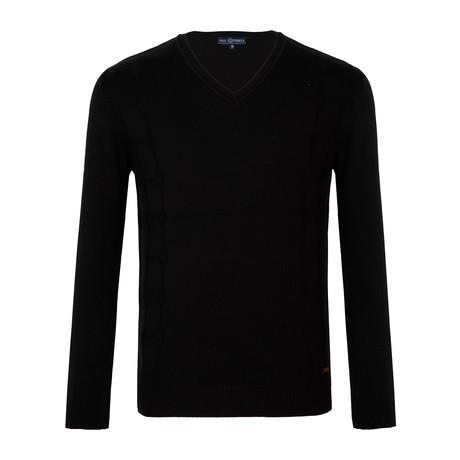 Sherwin Crew-Neck Sweater // Black (XS)