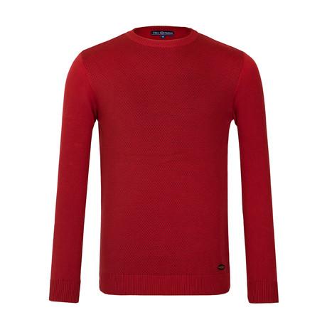 Artie Crew-Neck Sweater // Red (XS)