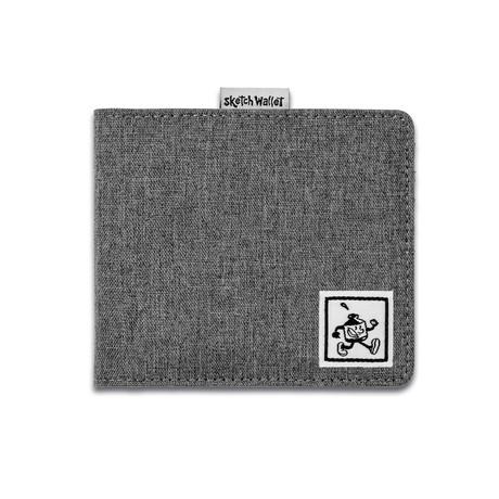 Sketch Wallet // Medium // Canvas (Black)