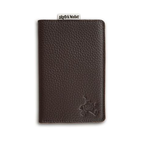 Sketch Wallet // Original // Leather (Black)