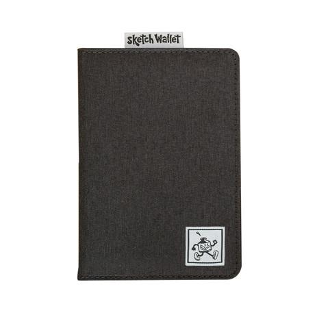 Sketch Wallet // Original // Canvas (Black)